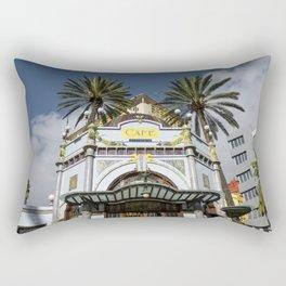 Las Palmas Cafe Rectangular Pillow