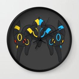 Umbreon Duo Wall Clock