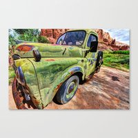 ram Canvas Prints featuring Ram by Kent Moody