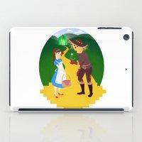 oz iPad Cases featuring Oz by Kyrstin Avello