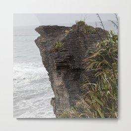 Pancake rocks New Zealand Metal Print