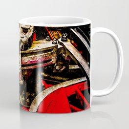 Vintage Steam Engine Locomotive - Driving Gear Coffee Mug