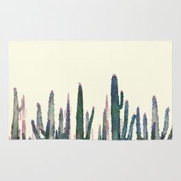 cactus water color Rug