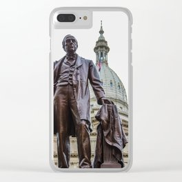 Michigan's War Time Governor Clear iPhone Case