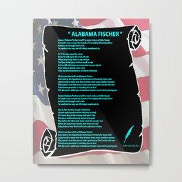 ALABAMA'S SONG Metal Print