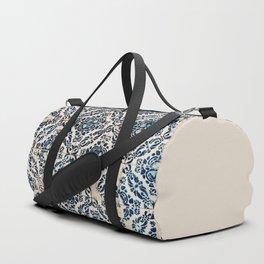 Azulejo IX - Portuguese hand painted tiles Duffle Bag