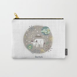 Taurus Earth Carry-All Pouch