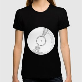 Record Label Sketch T-shirt