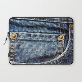 Texture #17 Jeans Laptop Sleeve
