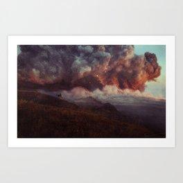Apocalyptic Cowboy Art Print
