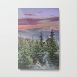"""""""Wildderness III"""". Adventure at the mountains... Metal Print"""
