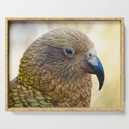 The Mountain Parrot Profile Serving Tray