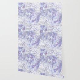 Flower Bouquet In Pastel Blue Color - #society6 #buyart Wallpaper