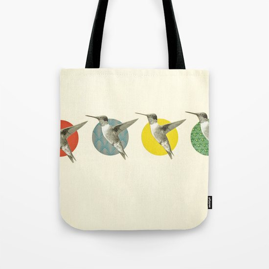 The Hummingbird Dance Tote Bag