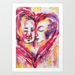 Color Me Emotional Art Print