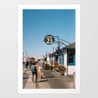 San Francisco by the bay Art Print