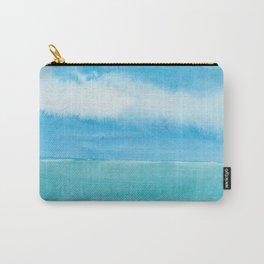 Blue Drift Sky Carry-All Pouch