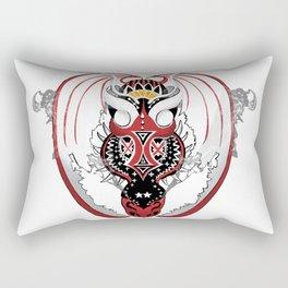 Smoking Bloodshot Dragon Rectangular Pillow