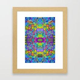 Klimt Tree of Life Mandala Framed Art Print
