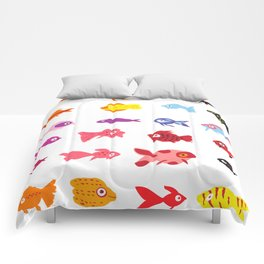 Fish collection Comforters