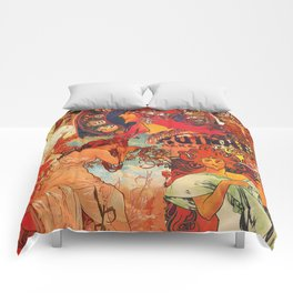 Klimt Collage Comforters