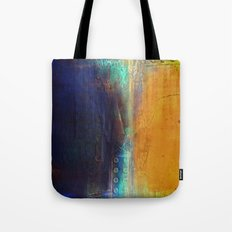Navy and Gold Tote Bag