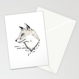 Foxy Lady Stationery Cards