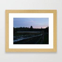 Howe Farm Framed Art Print