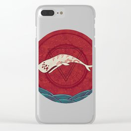 The Devil Roams These Waters Clear iPhone Case