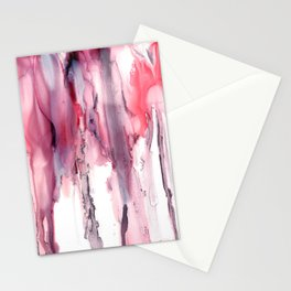 Marble Rain Stationery Cards