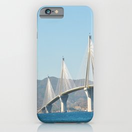 Rio Antirrio Bridge iPhone Case