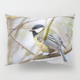 The Great Tit Pillow Sham