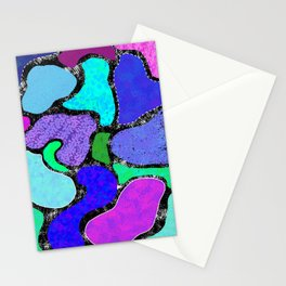 Funky Lagoons Stationery Cards