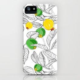 Summertime Guavas iPhone Case