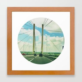 The Dartford Crossing Framed Art Print