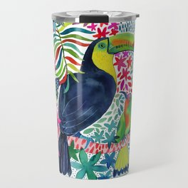 Toucan in the Rainforest Travel Mug