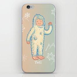 Yeti - Cute Cryptid iPhone Skin