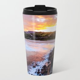 South Coast Sunset Travel Mug
