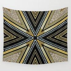 Glam Cross Star Wall Tapestry
