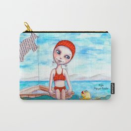 Swimming Solitude by Kylie Fowler Carry-All Pouch