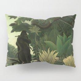 """Henri Rousseau """"The Snake Charmer"""", 1907 Pillow Sham"""