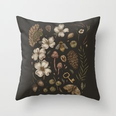 Nature Walks Throw Pillow