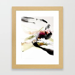 Day 12: To appreciate the imperfections that accompany beauty is the be close to nature. Framed Art Print