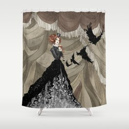 Midnight Circus: The Illusionist Shower Curtain