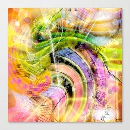 QUARK EXPRESS ABSTRACT Canvas Print