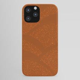 Sparkling Hills - Rust Orange iPhone Case