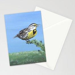 Meadowlark Art, Wyoming Bird Stationery Cards