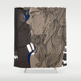 Love games 2 Shower Curtain