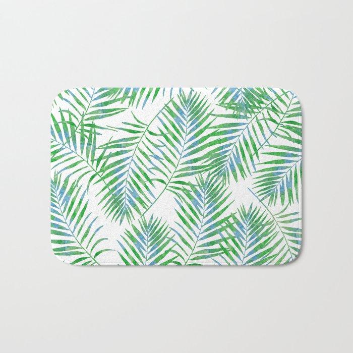 Fern Leaves Bath Mat