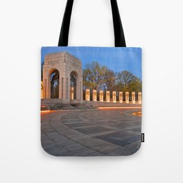 Washington DC World War II Memorial Tote Bag
